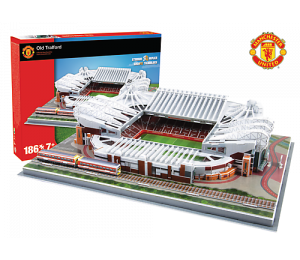 PUZZLE: Model Stadionu Old Tradford (Manchester United)