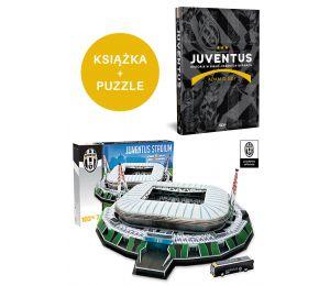Juventus. Historia + PUZZLE: Model Stadionu Juventusu Trefl