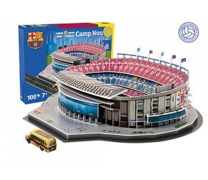 PUZZLE: Model stadionu Camp Nou (FC Barcelona)