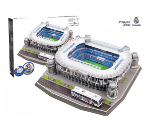 Model Stadionu Santiago Bernabeu (Real Madrid CF)