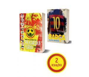 Pakiet: Piłkarska furia + Barca. Złota dekada