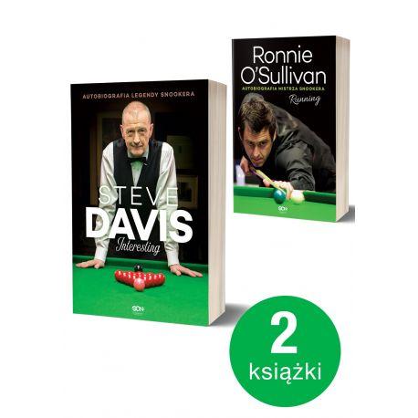 Pakiet: Steve Davis. Interesting + Ronnie O'Sullivan
