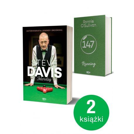 Pakiet: Steve Davis. Interesting + OSullivan (Kolekcjonerski)