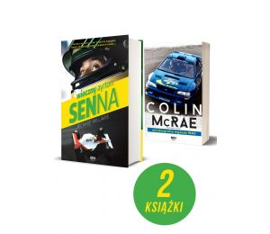 Pakiet: Wieczny Ayrton Senna + Colin McRae
