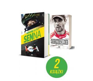 Pakiet: Wieczny Ayrton Senna + Sebastien Loeb