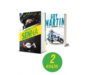 Pakiet: Wieczny Ayrton Senna + Guy Martin. Motobiografia