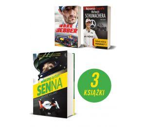 Pakiet F1: Ayrton Senna + Mark Webber + Schumacher