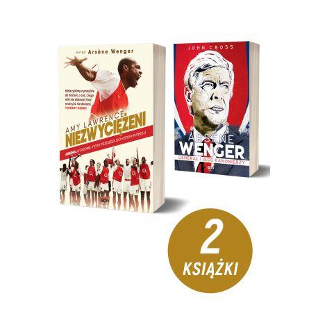 Pakiet: Arsenal. Niezwyciężeni + Arsene Wenger. Generał i jego Kanonierzy