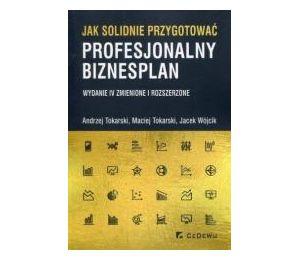 Jak solidnie przygotować profes. biznesplan w.IV