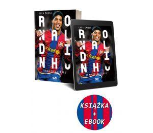 (Pakiet) Ronaldinho. Uśmiech futbolu + Ebook