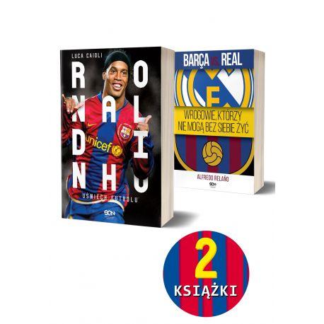 Pakiet: Ronaldinho. Uśmiech futbolu + Barca vs. Real