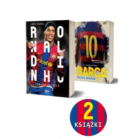 Pakiet: Ronaldinho. Uśmiech futbolu + Barca. Złota dekada