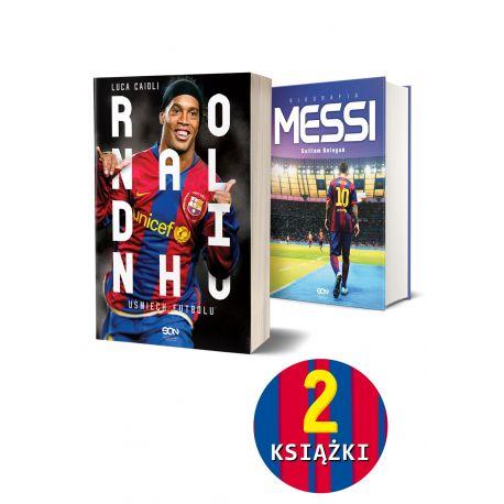 Pakiet: Ronaldinho + Messi. Biografia (Twarda oprawa)
