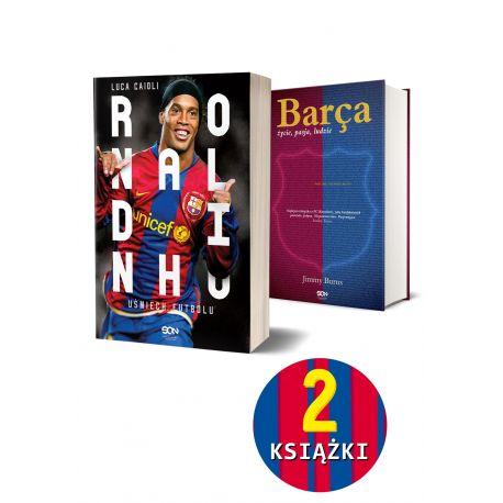 Pakiet: Ronaldinho + Barca. Życie, pasja, ludzie (wyd. 2)
