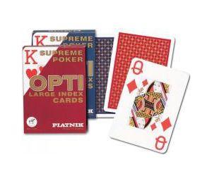 """Karty poker """"Opti poker"""" PIATNIK"""