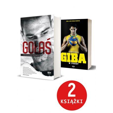 Pakiet: Arkadiusz Gołaś + Giba