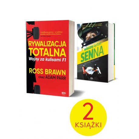 Pakiet: Rywalizacja totalna + Wieczny Ayrton Senna