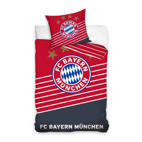 Pościel czerwona Bayern Monachium (160x200 + 70x80)