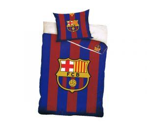 Pościel dwukolorowa logi FC Barcelona (140x200 + 70x80)