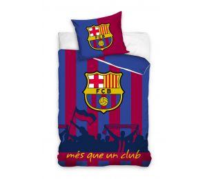 Pościel kibice i herb FC Barcelona (140x200 + 70x80)
