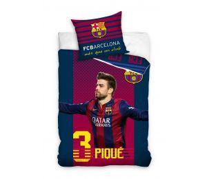 Pościel Pique FC Barcelona (160x200 + 70x80)