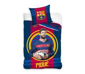 Pościel Pique z piłką FC Barcelona (160x200 + 70x80)