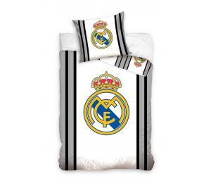 Pościel duże logo Real Madryt (160x200 + 70x80)