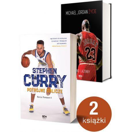 Pakiet: Stephen Curry + Michael Jordan. Życie (Twarda)