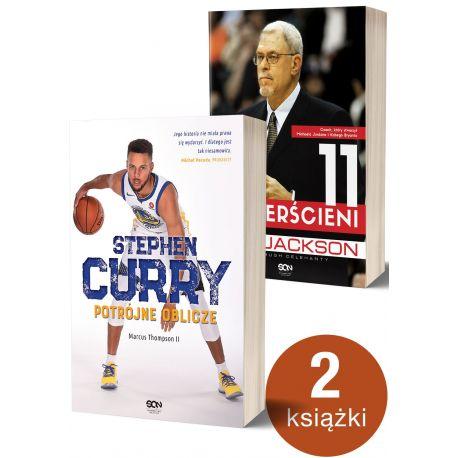 Pakiet: Stephen Curry. Potrójne oblicze + Phil Jackson (wyd. 2)