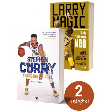 Pakiet: Stephen Curry. Potrójne oblicze + Larry vs Magic