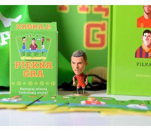 Pakiet: Piękna gra + figurka C. Ronaldo + plecak + karty