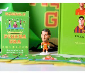 Pakiet: Piękna gra + figurka Buffon + plecak + karty