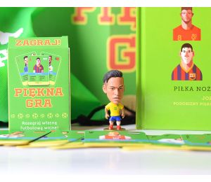 Pakiet: Piękna gra + figurka Neymar + plecak + karty