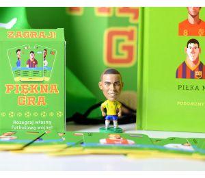 Pakiet: Piękna gra + figurka brazylijski Ronaldo + plecak + karty