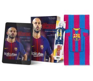 Pakiet: Javier Mascherano + ebook + zakładka + ręcznik pasy