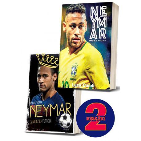 Pakiet: Neymar. Magik z Brazylii + Neymar. Czarodziej futbolu