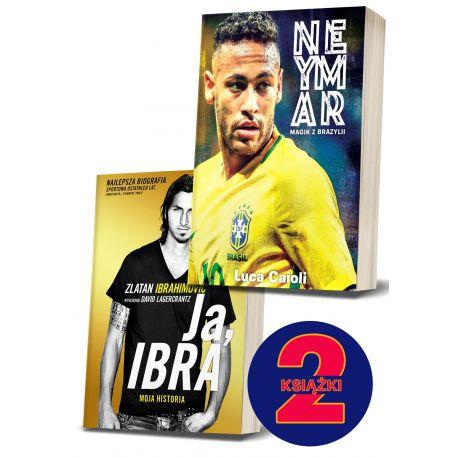 Pakiet: Neymar. Magik z Brazylii + Ja, Ibra (wyd. 2)