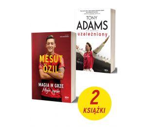 Okładki książek Mesut Özil. Autobiografia i Tony Adams| książki sportowe Labotiga.pl