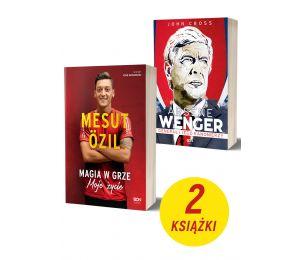 Okładki książek Mesut Özil. Autobiografia i Arsene Wenger | książki sportowe Labotiga.pl