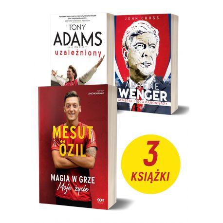 Pakiet: Mesut Özil + Wenger + Tony Adams