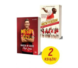Mesut Özil + Niezwyciężeni. Arsenal | książki sportowe Labotiga.pl