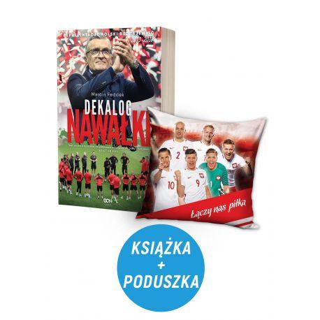 Okladka-pakietu-sportowego-Dekalog-Nawalki-i-poduszka-poliestrowa-pzpn-dostepnego-w-ksiegarni-sportowej-LaBotiga.pl