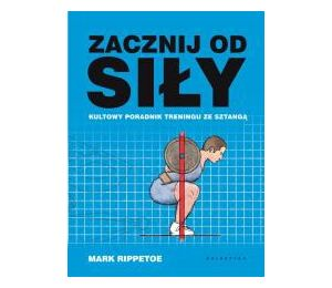 Okładka książki sportowej Zacznij od siły