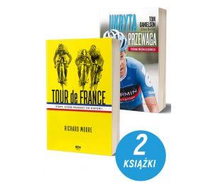 Okładka książki sportowej Tour de France