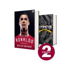 Pakiet: Ronaldo. Biografia (Twarda) + Juventus. Historia