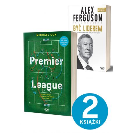 Pakiet: Premier League + Alex Ferguson. Być liderem (miękka)
