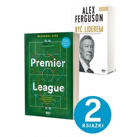 Pakiet: Premier League + Alex Ferguson. Być liderem (twarda)