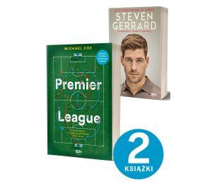 Pakiet Premier League + Steven Gerrard | książki sportowe na LaBotiga