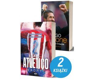 Okładki książek sportowych Atletico Madryt oraz Diego Simeone Kolekcjoner Tytułów