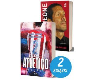 Okładki książek sportowych Atletico Madryt oraz Diego Simeone. Pogromca gwiazd